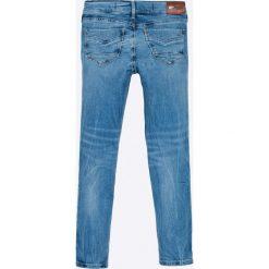 Pepe Jeans - Jeansy dziecięce Pixlette 122-176. Niebieskie jeansy dziewczęce Pepe Jeans, z bawełny. W wyprzedaży za 159,90 zł.