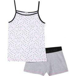 Piżama z krótkimi spodenkami 10 - 16 lat. Szare bielizna chłopięca DIM, z nadrukiem, z bawełny, młodzieżowe. Za 125,96 zł.