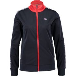 Bomberki damskie: Champion Reverse Weave ZIP THROUGH TRACK  Kurtka sportowa navy