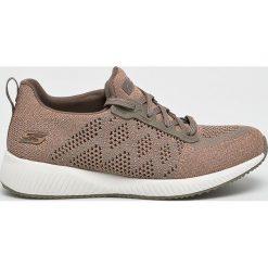 Skechers - Buty. Szare buty sportowe damskie Skechers, z materiału. W wyprzedaży za 179,90 zł.