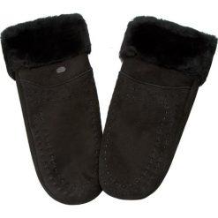 Rękawiczki Damskie EMU AUSTRALIA - Otway Mittens Black. Szare rękawiczki damskie marki EMU Australia, z gumy. Za 419,00 zł.