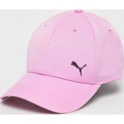 Puma - Czapka. Różowe czapki z daszkiem damskie Puma, z poliesteru. Za 79,90 zł.