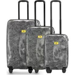 Walizki Surface w zestawie 3 el. White Fur. Białe walizki Crash Baggage, z materiału. Za 2712,00 zł.