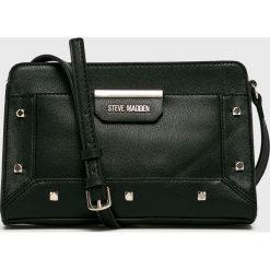 Steve Madden - Torebka. Czarne torebki klasyczne damskie Steve Madden, w paski, z materiału, małe. W wyprzedaży za 239,90 zł.
