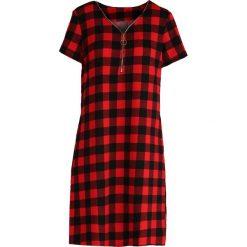 Sukienki: Czerwona Sukienka Cheerful