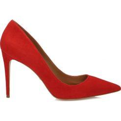 Czółenka: Czerwone czółenka damskie