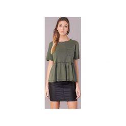 T-shirty z krótkim rękawem Only  EDDA. Zielone t-shirty damskie ONLY, l. Za 71,20 zł.