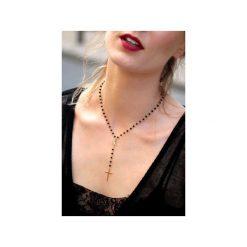 Naszyjnik Spinel złoto różaniec. Czarne naszyjniki damskie Brazi druse jewelry, na co dzień, srebrne. Za 270,00 zł.