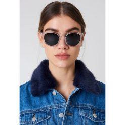 Okulary przeciwsłoneczne damskie: Christopher Cloos Okulary przeciwsłoneczne Paloma – Silver