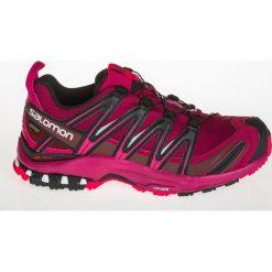 Salomon Buty damskie XA Pro 3D GTX W Beet Red/Sangria/Black r. 41 1/3 (398536). Szare buty sportowe damskie marki Salomon, z gore-texu, na sznurówki, outdoorowe, gore-tex. Za 392,09 zł.