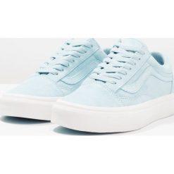 Vans UA OLD SKOOL Tenisówki i Trampki crystal blue/blanc de blanc. Niebieskie tenisówki damskie Vans, z materiału. W wyprzedaży za 265,30 zł.