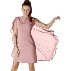 Sukienki hiszpanki: Sukienka w kolorze brudnego różu