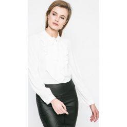 Vero Moda - Bluzka. Szare bluzki asymetryczne Vero Moda, l, z elastanu, casualowe. W wyprzedaży za 79,90 zł.