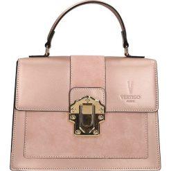 """Torebki klasyczne damskie: Skórzana torebka """"Royal"""" w kolorze jasnoróżowym – 27 x 22 x 10 cm"""