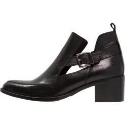 Botki damskie lity: Bianco Ankle boot black