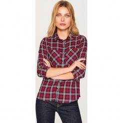 Koszula w kratę - Fioletowy. Fioletowe koszule damskie marki DOMYOS, l, z bawełny. Za 79,99 zł.