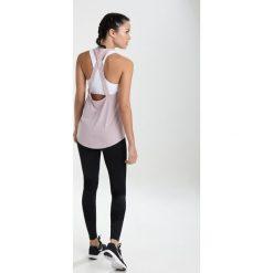 Nike Performance TANK ELASTIKA  Koszulka sportowa particle rose/gunsmoke. Czerwone topy sportowe damskie Nike Performance, l, z materiału. Za 149,00 zł.