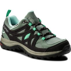 Trekkingi SALOMON - Ellipse 2 Gtx W GORE-TEX 379201 21 M0 Light Tt/Asphalt/Jade Green. Zielone buty trekkingowe damskie Salomon. W wyprzedaży za 369,00 zł.
