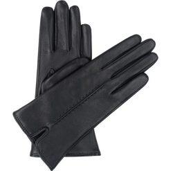 Rękawiczki damskie. Czarne rękawiczki damskie Ochnik, ze skóry. Za 179,90 zł.