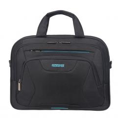 "American Tourister AT Work 15.6"" czarna. Czarne torby na laptopa marki Samsonite. Za 179,00 zł."