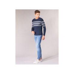 Swetry Guess  RELANSA. Niebieskie swetry klasyczne męskie Guess, l. Za 309,00 zł.