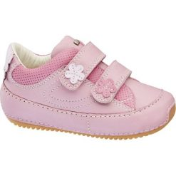 Buciki niemowlęce chłopięce: buciki dziecięce Elefanten różowe