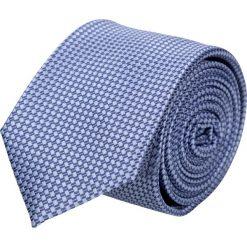 Krawat platinum fiolet classic 209. Szare krawaty męskie Recman, z aplikacjami, z tkaniny, eleganckie. Za 49,00 zł.