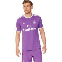Adidas Koszulka męska REAL A JSY fioletowa r. S (AI5158). Fioletowe koszulki sportowe męskie marki Reserved, l, z bawełny. Za 247,08 zł.