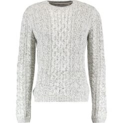 Swetry klasyczne męskie: Only & Sons ONSHEATH CABLE CREW NECK Sweter cloud dancer