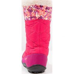 Columbia MINX MID II WATERPROOF OMNIHEAT Śniegowce punch pink/orange. Czerwone buty zimowe damskie Columbia, z gumy. W wyprzedaży za 226,85 zł.