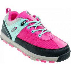 Hi-Tec Buty Turystyczne Mugo Jrg Fuchsia/Mint 32. Różowe buciki niemowlęce chłopięce Hi-tec, z gumy. W wyprzedaży za 79,00 zł.