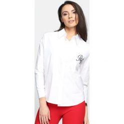 Biała Koszula Wildest Dreams. Białe koszule damskie marki Born2be, s. Za 49,99 zł.