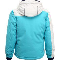 Kurtki chłopięce przeciwdeszczowe: Kamik COCO COLOUR BLOCK Kurtka narciarska capri/white