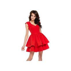 Sukienka Bianca. Czarne sukienki balowe marki Ooh la la, xl, z elastanu, z dekoltem w łódkę, proste. Za 249,00 zł.