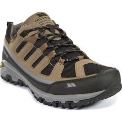 Buty turystyczne w kolorze jasnobrązoym. Brązowe buty trekkingowe męskie Trespass Shoes & Accessoires, z materiału. W wyprzedaży za 239,95 zł.