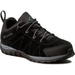 Trekkingi COLUMBIA - Youth Venture BY2858 Black/Graphite 010. Niebieskie buty trekkingowe chłopięce marki CMP, z materiału. W wyprzedaży za 169,00 zł.