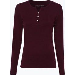 Brookshire - Damska koszulka z długim rękawem, czerwony. Czerwone t-shirty damskie brookshire, xl, z bawełny, z kołnierzem typu henley. Za 99,95 zł.