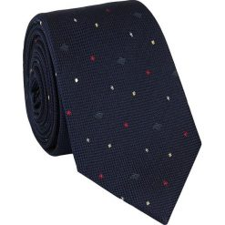 Jedwabny krawat KWWR000087. Czarne krawaty męskie Giacomo Conti, z jedwabiu. Za 129,00 zł.