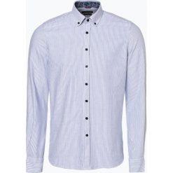 Nils Sundström - Koszula męska, niebieski. Niebieskie koszule męskie na spinki Nils Sundström, m, z materiału. Za 169,95 zł.