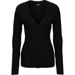 Sweter rozpinany w prążek bonprix czarny. Szare kardigany damskie marki Mohito, l. Za 59,99 zł.