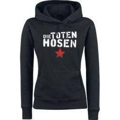 Die Toten Hosen DTH mit Stern Bluza z kapturem damska czarny. Czarne bluzy rozpinane damskie Die Toten Hosen, s, z nadrukiem, z kapturem. Za 164,90 zł.