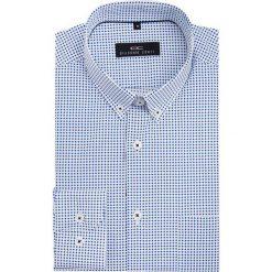 Koszula SIMONE10D KDBS000060. Niebieskie koszule męskie na spinki marki Giacomo Conti, m, z tkaniny, klasyczne. Za 199,00 zł.