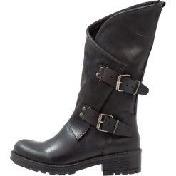 Coolway ALIDA Kowbojki i obuwie motocyklowe black. Czarne buty zimowe damskie Coolway, z materiału. Za 419,00 zł.