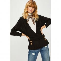 Trendyol - Sweter. Szare swetry oversize damskie Trendyol, l, z dzianiny. Za 69,90 zł.
