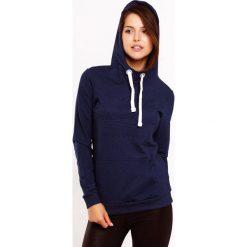 Bluza damska MF Blue. Niebieskie bluzy rozpinane damskie Astratex, z napisami, z bawełny. Za 110,99 zł.