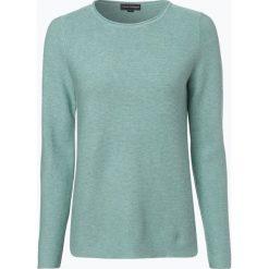 Franco Callegari - Sweter damski, zielony. Zielone swetry klasyczne damskie marki Franco Callegari, z napisami. Za 229,95 zł.