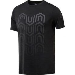 Koszulka do biegania męska REEBOK ACTIVCHILL RUNNING SS TEE / CW0465 - ACTIVCHILL RUNNING SS TEE. Czarne koszulki do biegania męskie marki Reebok, m, z krótkim rękawem. Za 135,00 zł.