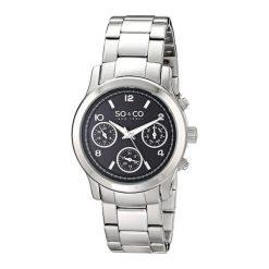 """Zegarki męskie: Zegarek """"5012.1"""" w kolorze czarno-srebrnym"""