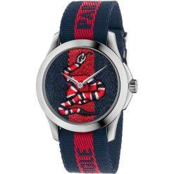 ZEGAREK GUCCI Le Marche des Merveilles YA126493. Czarne zegarki męskie GUCCI, ze stali. Za 3390,00 zł.