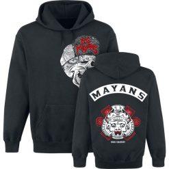 Sons Of Anarchy Los Mayans Bluza z kapturem czarny. Czarne bejsbolówki męskie Sons Of Anarchy, l, z nadrukiem, z kapturem. Za 164,90 zł.
